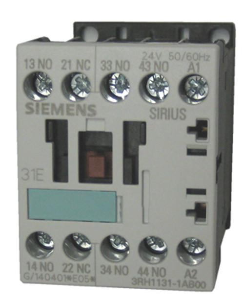 Siemens 3RH1131-1AB00 4 pole control relay