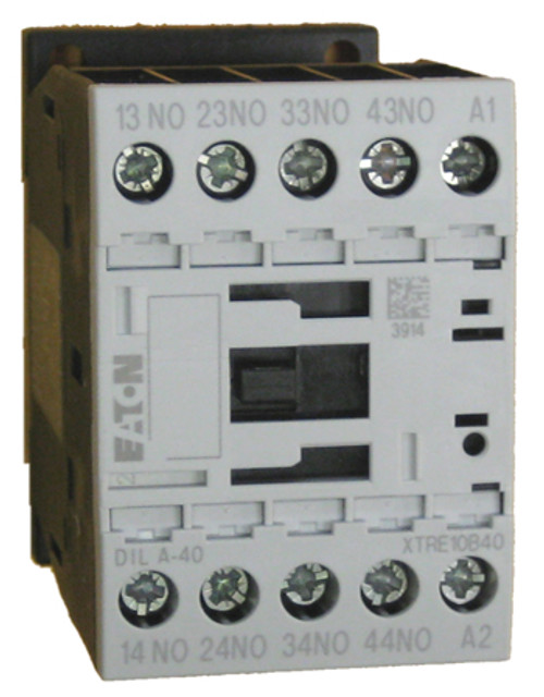 Eaton/Moeller DILA-40 24 volt control relay