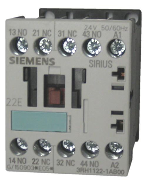 Siemens 3H1122-1AB00 4 pole control relay