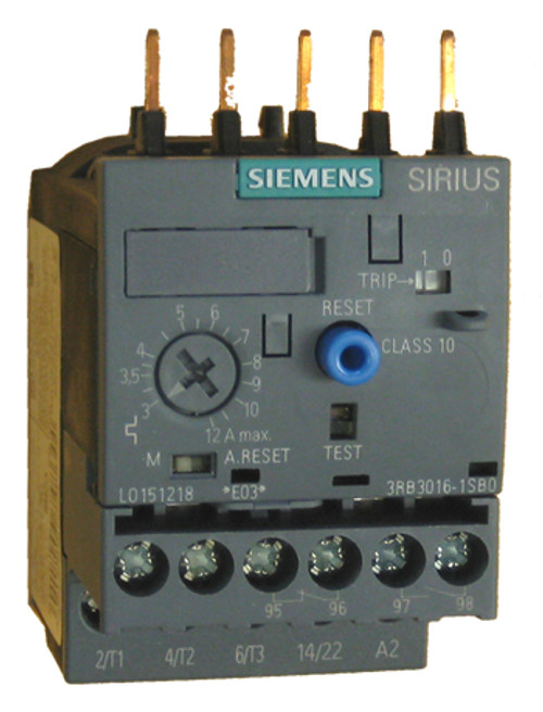 Siemens 3RB3016-1SB0 solid state overload relay