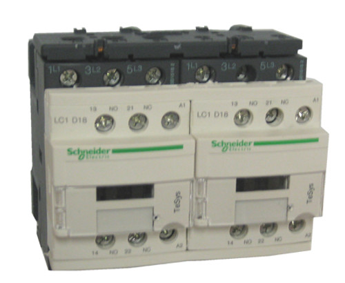 Schneider Electric LC2D18G7 reversing contactor