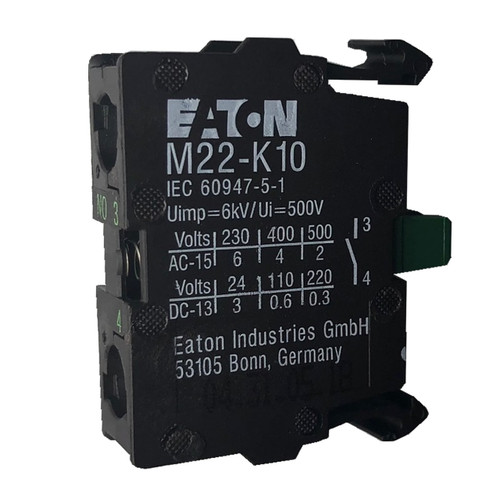 Eaton M22-K10 contact block