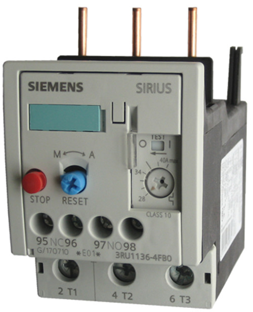 Siemens 3RU1136-4FB0 thermal overload relay