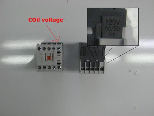 Benshaw RSC-9M-AC120 coil location
