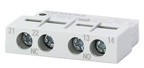 Siemens 3RV1901-1A front mounted auxiliary contact