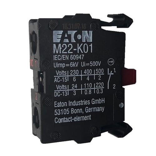 Eaton M22-K01 contact block