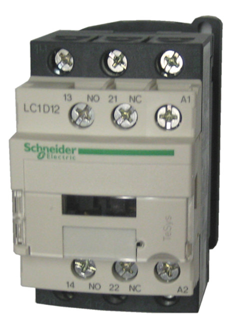 Schneider Electric LC1D12F7 side label