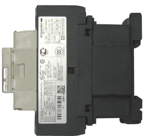 Schneider Electric LC1D25F7 side label