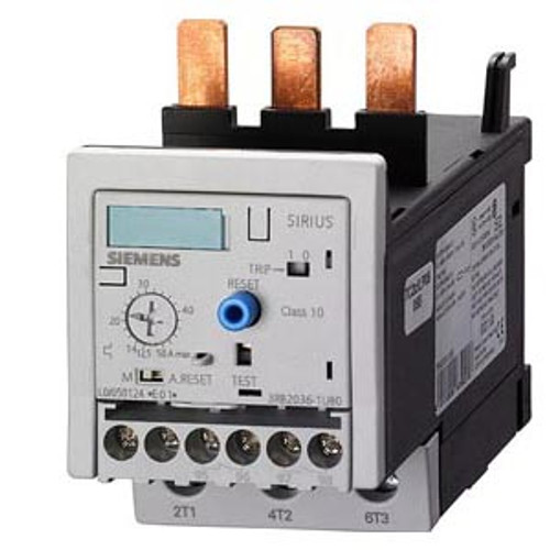 Siemens 3RB2036-1UB0 solid state overload relay