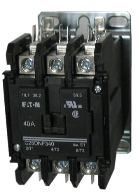 Eaton / Cutler Hammer C25DNF340B 3 pole contactor