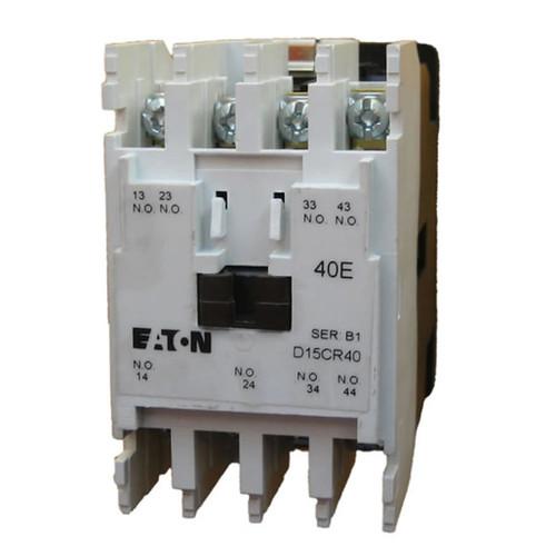 Eaton D15CR40JB NEMA control relay