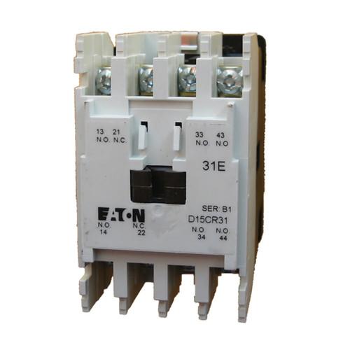 Eaton D15CR31TB NEMA control relay