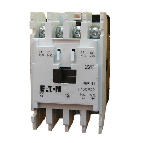 Eaton D15CR22TB NEMA control relay