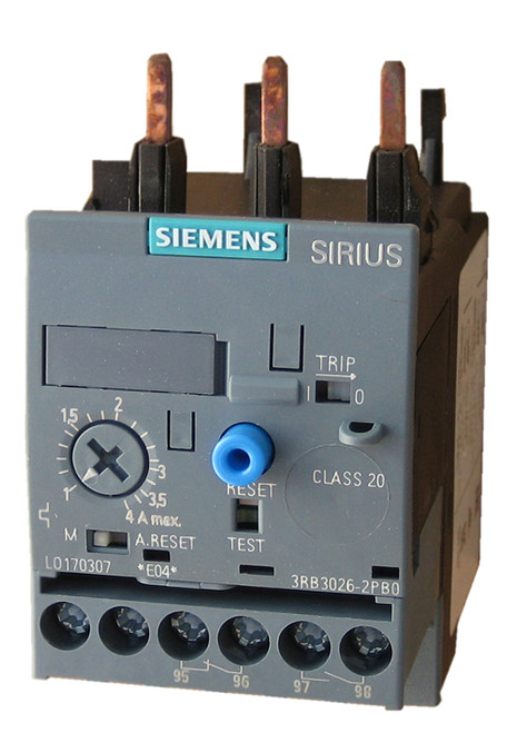 Siemens 3RB3026-1QB0 solid state overload relay