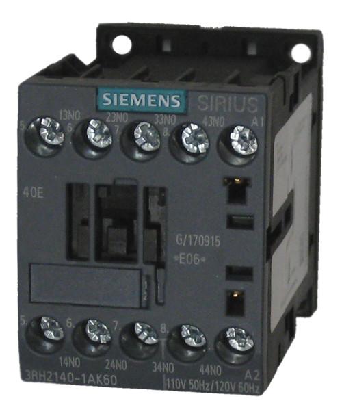 Siemens 3RH2140-1AK60 AC Control Relay