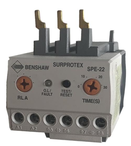 Benshaw SPE direct mount overload