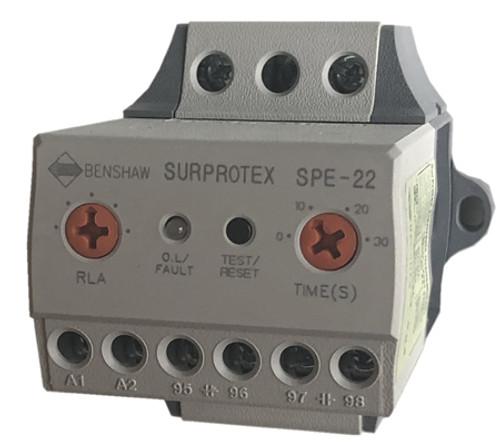 Benshaw SPE22-3SR-5A overload relay