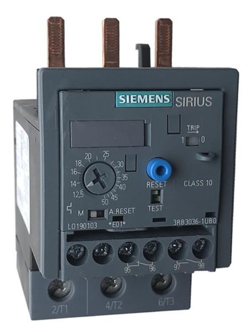 Siemens 3RB3036-1UB0 overload relay