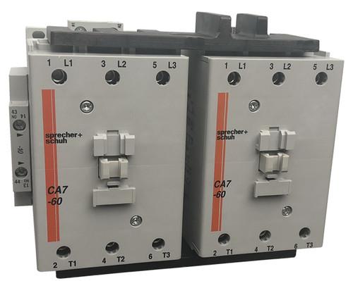 Sprecher + Schuh CAU7-60-22-240 reversing contactor