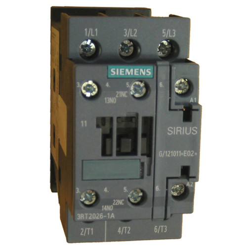 Siemens 3RT2026-1AN20 3 pole contactor
