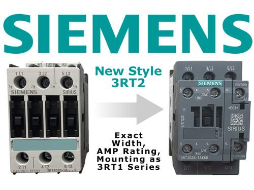 Siemens 3RT2026-1AN20 comparison