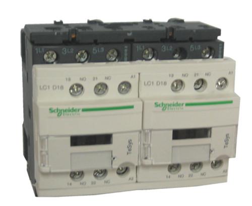 Schneider Electric LC2D18E7 reversing contactor