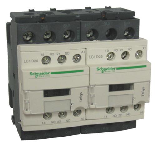 Schneider Electric LC2D25E7 reversing contactor
