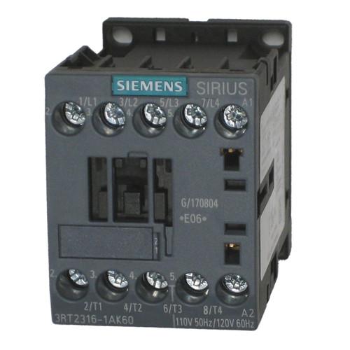 Siemens 3RT2316-1AK60 4 pole contactor