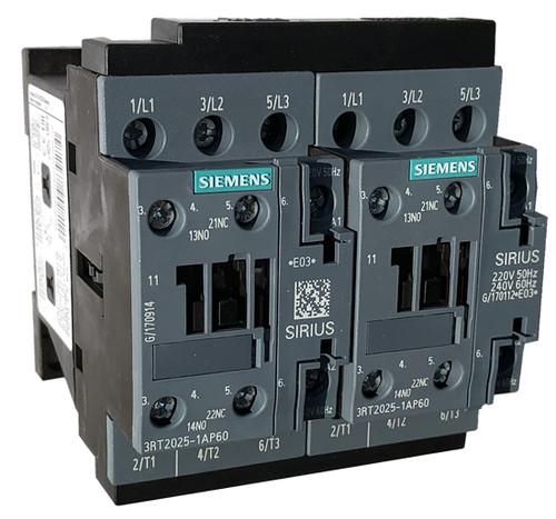 Siemens 3RA2325-8XB30-1AM2 reversing contactor