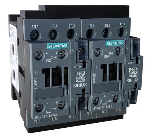 Siemens 3RA2327-8XB30-1AM2 reversing contactor