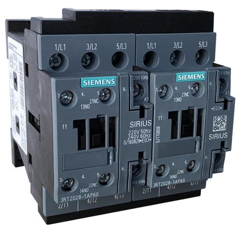 Siemens 3RA2328-8XB30-1AM2 reversing contactor