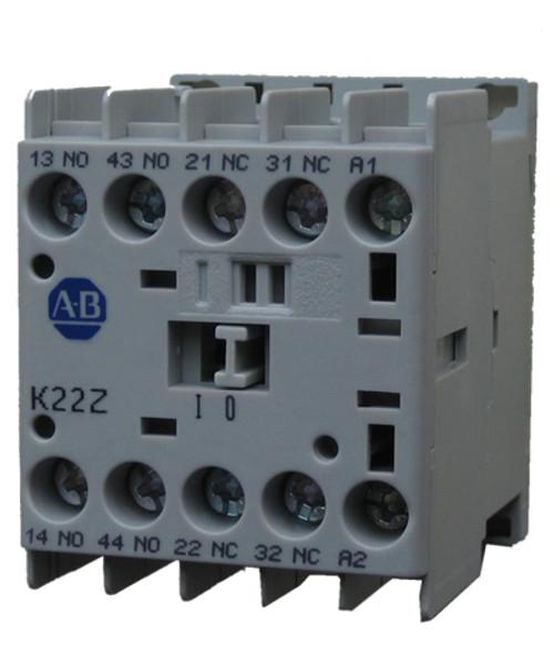 Allen Bradley 700-K22Z-ZD miniature contactor