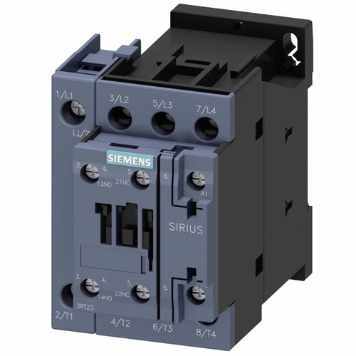 Siemens 3RT2325-1BB40 4 pole contactor