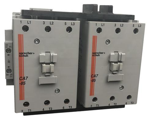 Sprecher + Schuh CAU7-85-22-600 reversing contactor