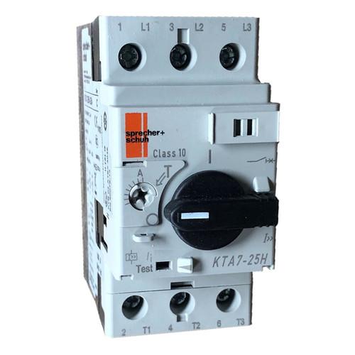 Sprecher and Schuh KTA7-25H-6.3A motor protector