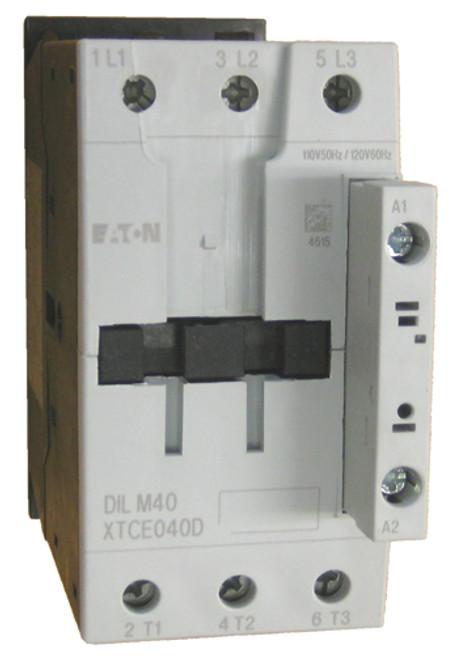 Eaton DILM40 220 volt contactor