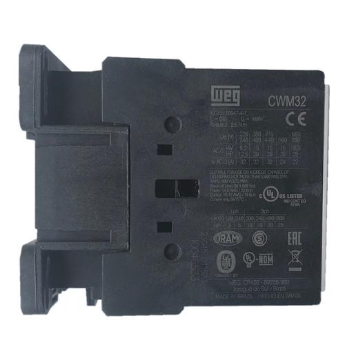WEG CWM32 side label