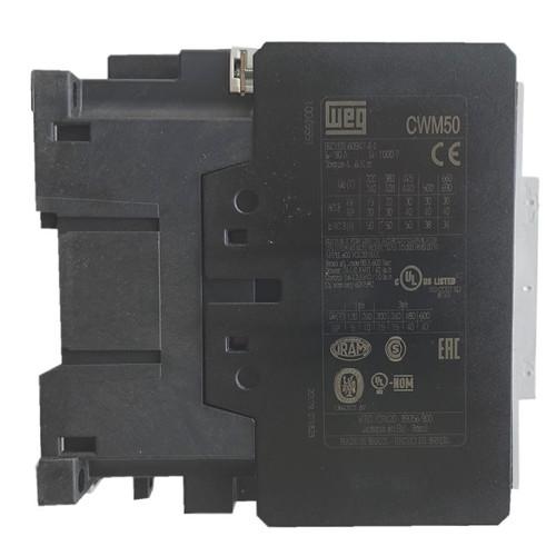 WEG CWM50 side label