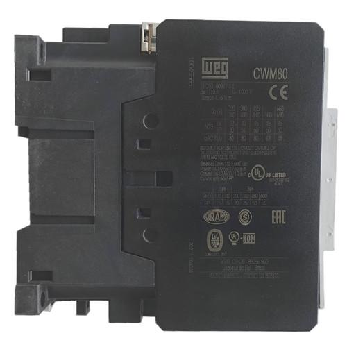 WEG CWM80 side label