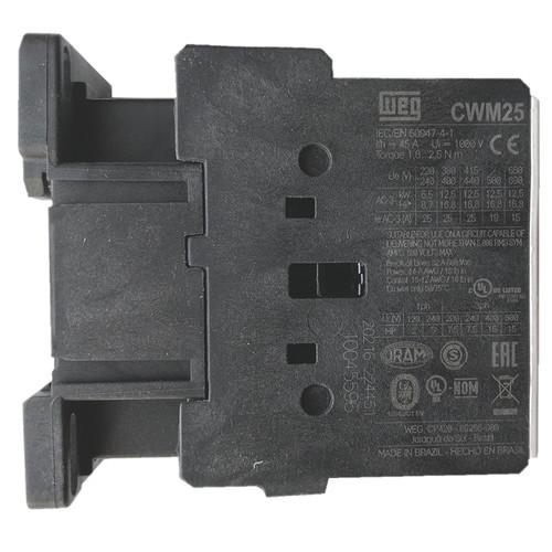 WEG CWM25-00-30V04 side label
