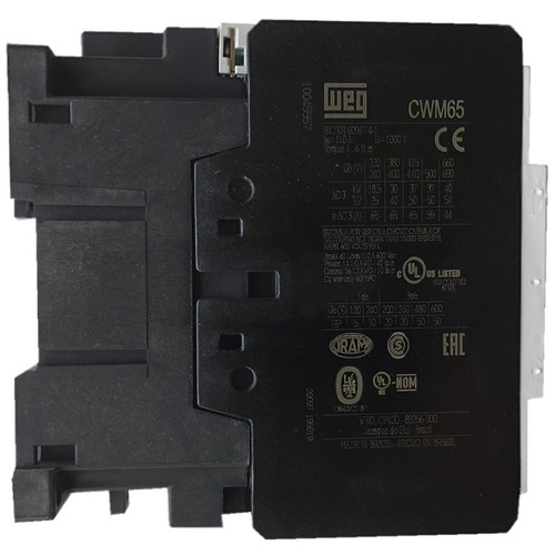 WEG CWM65-11-30V18 side label
