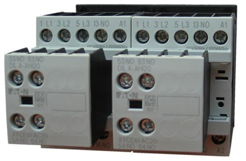 Eaton XTCR009B21TD reversing contactor