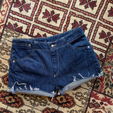 LEVI'S 843 DARK WASH SHORTS