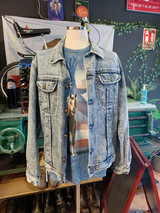 LOIS ACID WASH DENIM JACKET