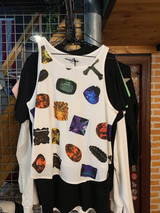 GEMSTONES FLOWING TANK TOP