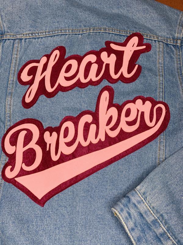 HEART BREAKER DENIM JACKET