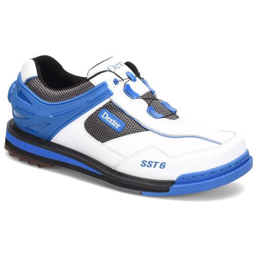 Dexter Mens SST 6 Hybrid BOA White / Blue