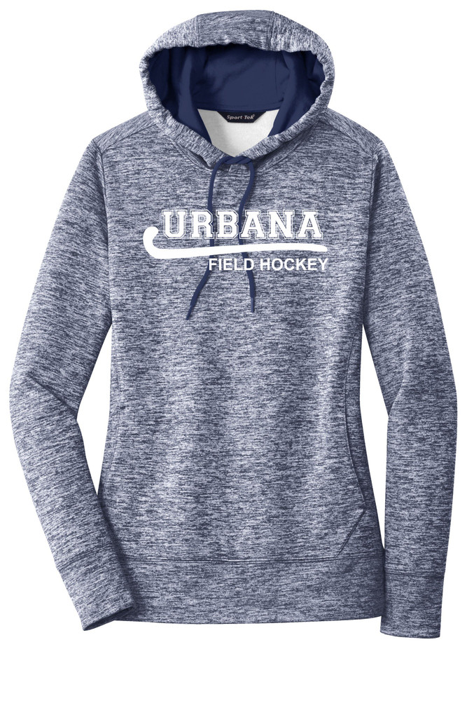 Urbana Hawks FIELD HOCKEY Hoodie Performance PosiCharge Electric Heather Fleece Pullover Sweatshirt Many Colors Available LADIES Sizes XS-4XL TRUE NAVY ELECTRIC