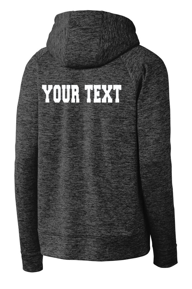 Urbana Hawks FIELD HOCKEY Hoodie Performance PosiCharge Electric Heather Fleece Pullover Sweatshirt Many Colors Available YOUTH Sizes S-XL GREY BLACK ELECTRIC