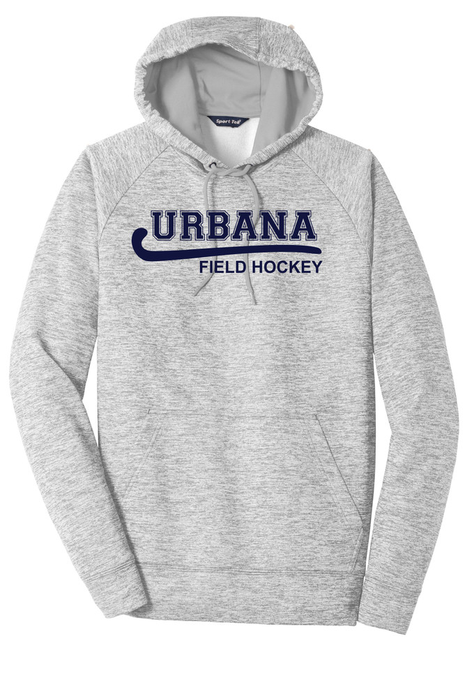 Urbana Hawks FIELD HOCKEY Hoodie Performance PosiCharge Electric Heather Fleece Pullover Sweatshirt Many Colors Available Sizes XS-4XL  SILVER ELECTRIC